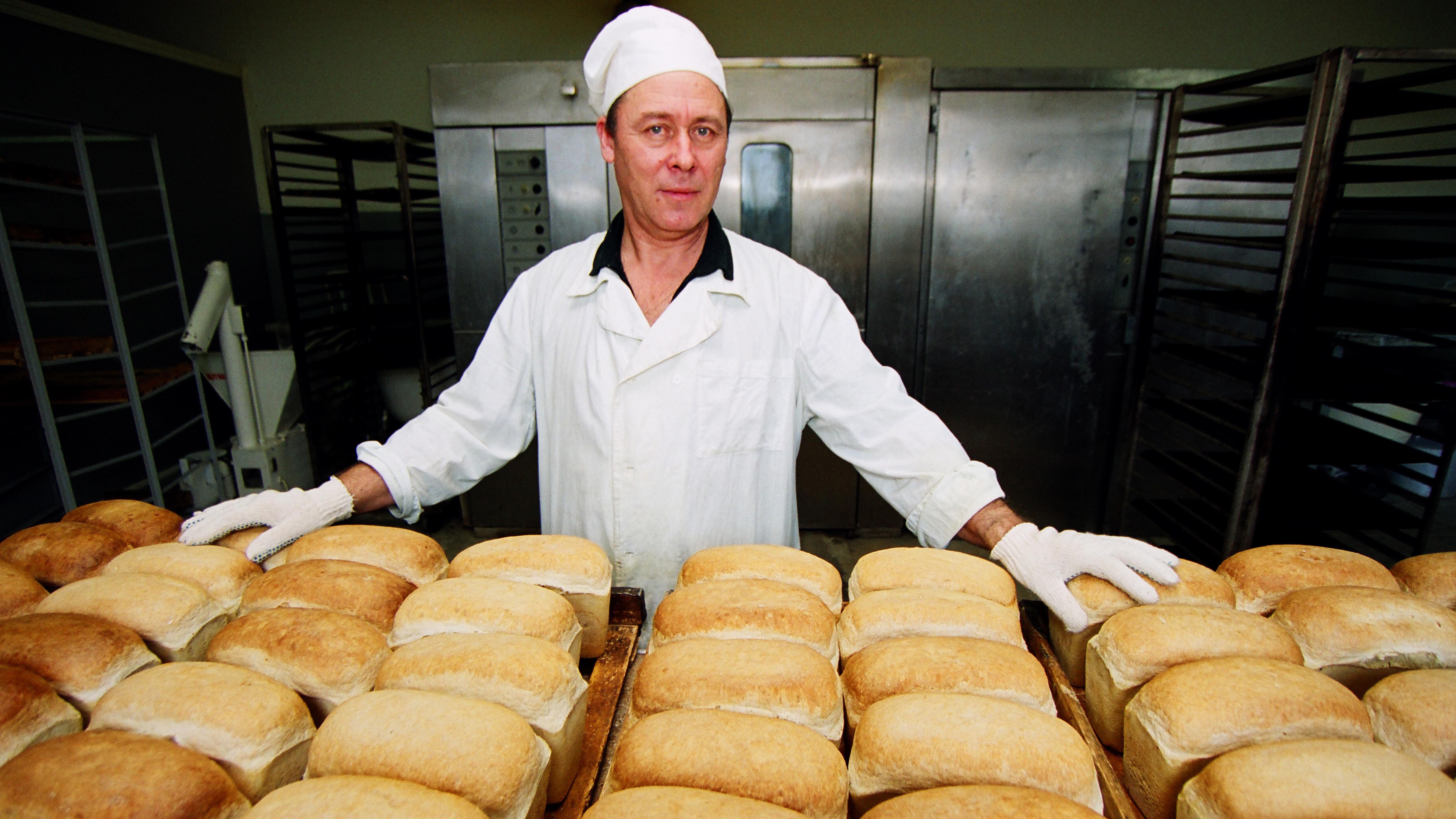 Картинки как делать хлеб
