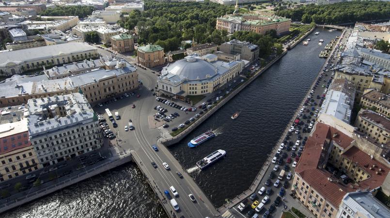 Река Фонтанка/ Фото: globallookpress.com/ Nikolay Gyngazov