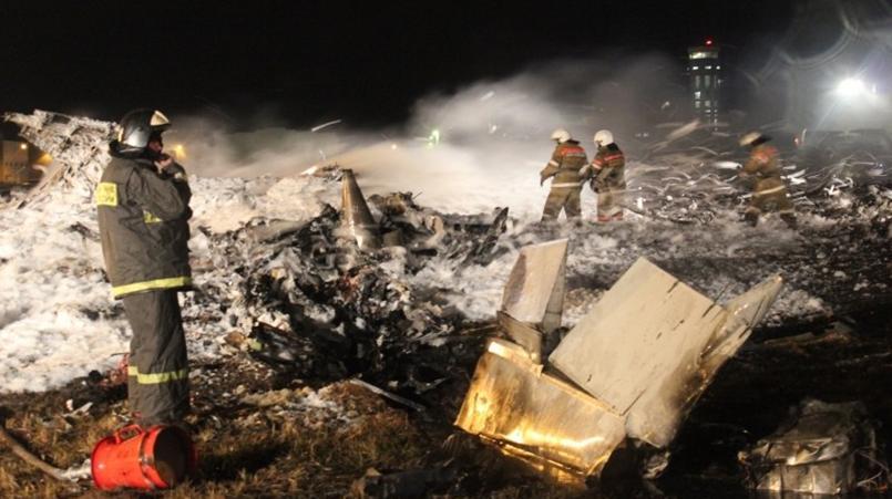 Место крушения Boeing - 737/ Фото: пресс-служба МЧС