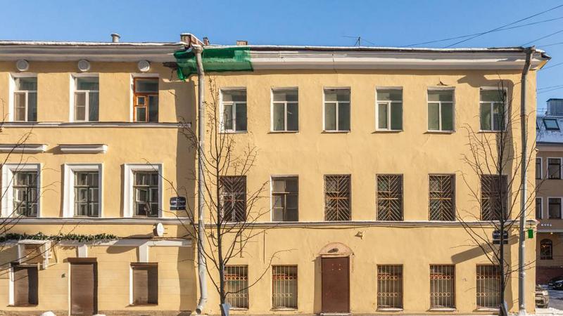 1-я Советская ул, дом 6, литер А/ Фото: пресс-служба АО «Фонд имущества Санкт-Петербурга»