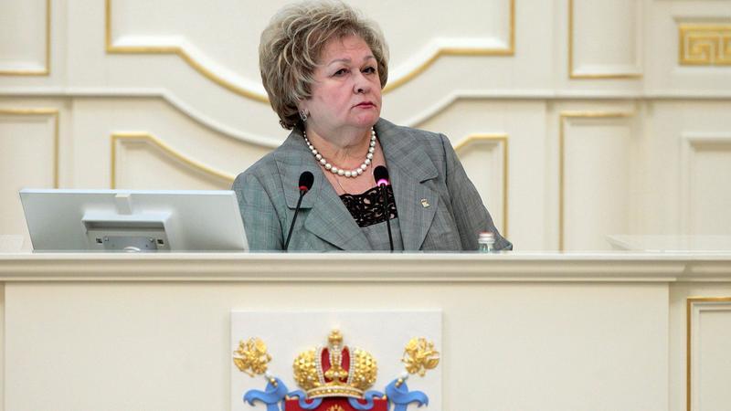 Мария Щербакова/ Фото: пресс-служба Законодательного собрания Санкт-Петербурга