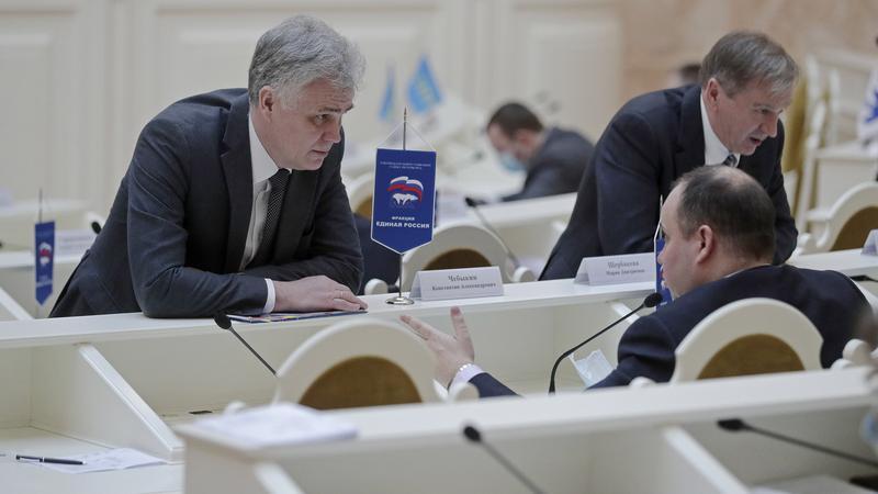 Фото: пресс-служба Законодательного собрания Санкт-Петербурга